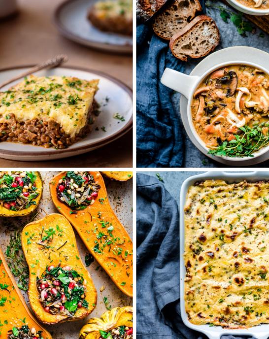 10 healthy vegan comfort foods for winter