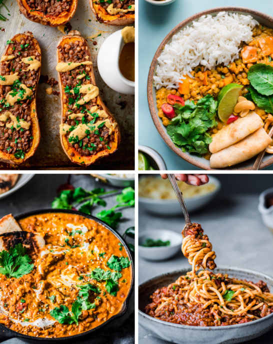 10 healthy vegan lentil recipes