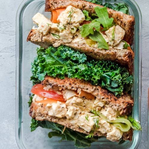 Friday: Tofu Salad Sandwich
