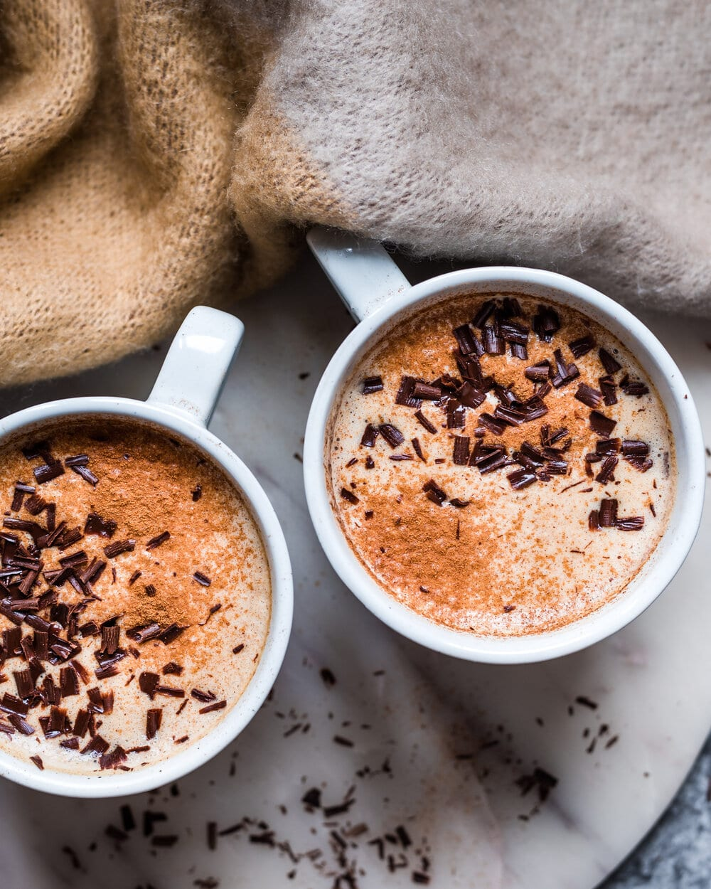 Sweet and Spicy Almond Butter Date Latte