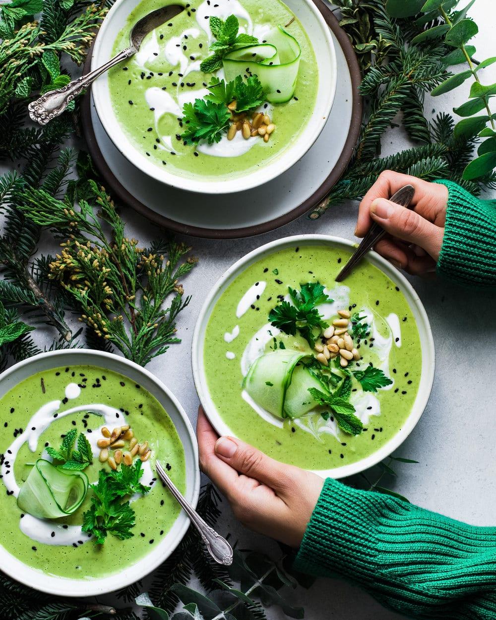 Vegan Green Goddess Soup