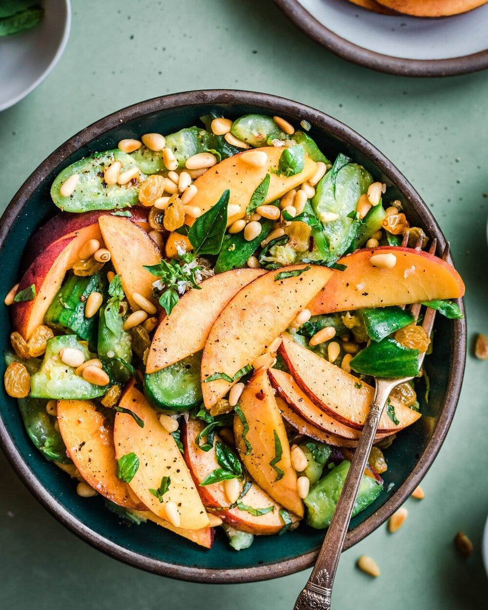 Sweet and Spicy Smashed Cucumber Salad