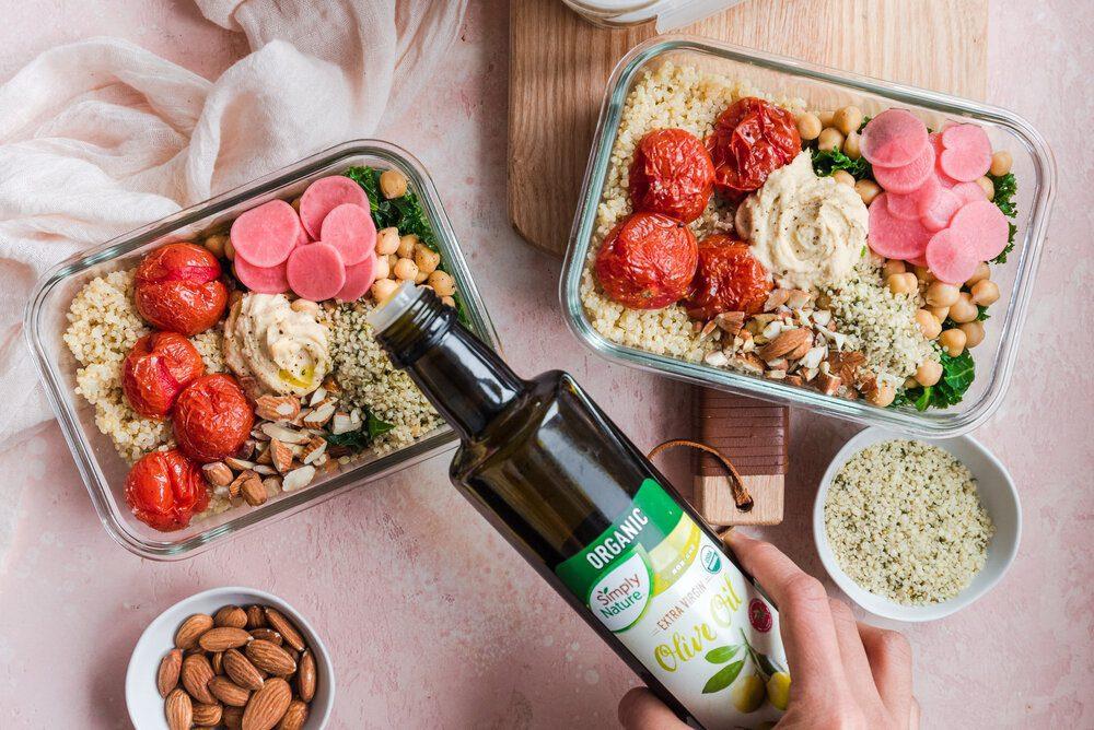 Stock your Fridge for Success: Healthy Vegan Meal Prep Ideas