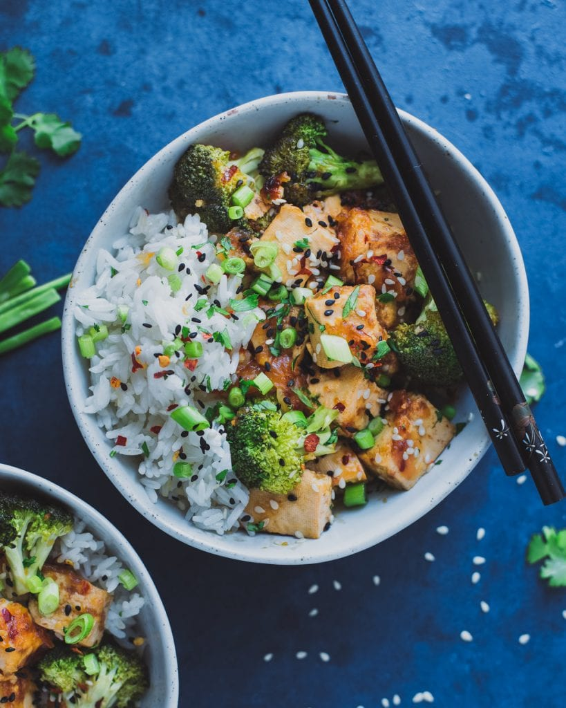 Chinese Takeout-Style Tofu and Broccoli (recipe from The Vegan Instant Pot Cookbook)