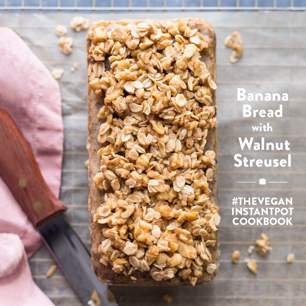The Vegan Instant Pot Cookbook by Nisha Vora