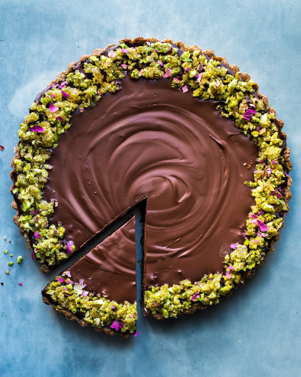 RPL_chocolate ginger tart - flat (1 of 1).jpg