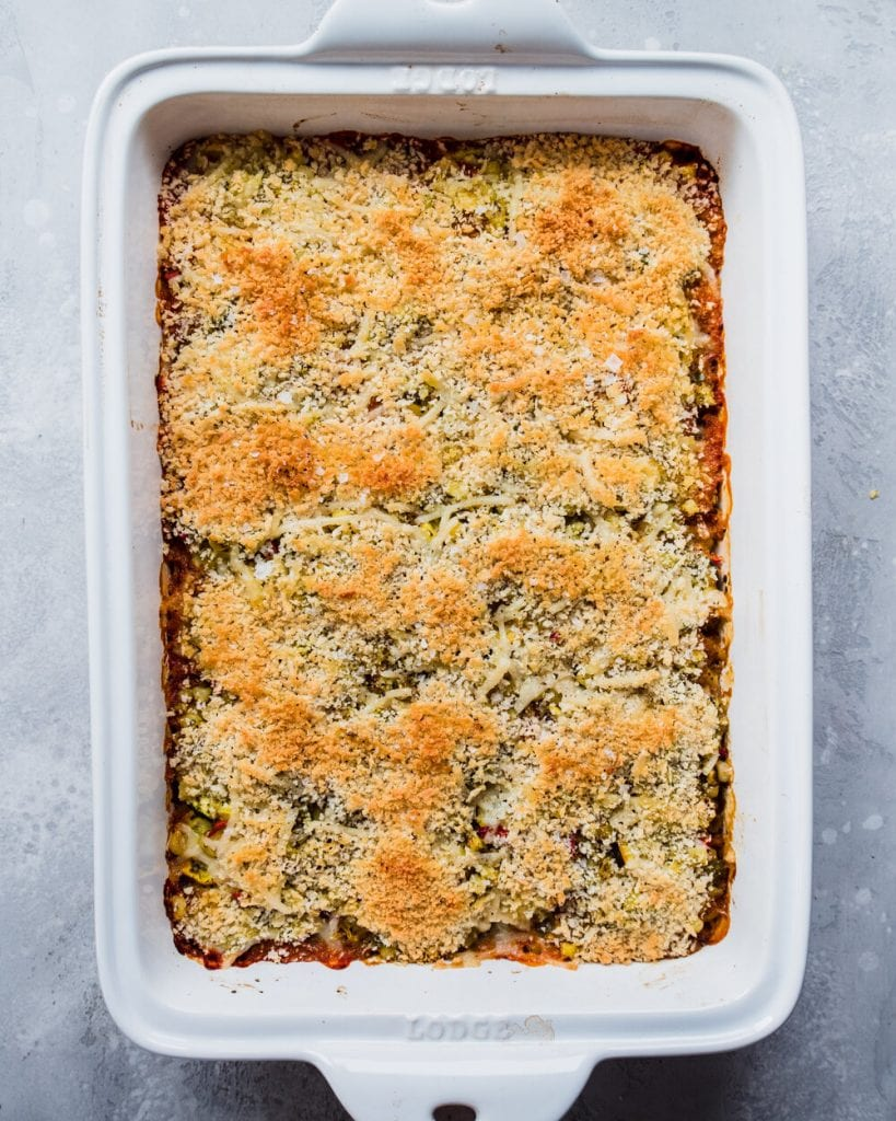baked zucchini and corn casserole