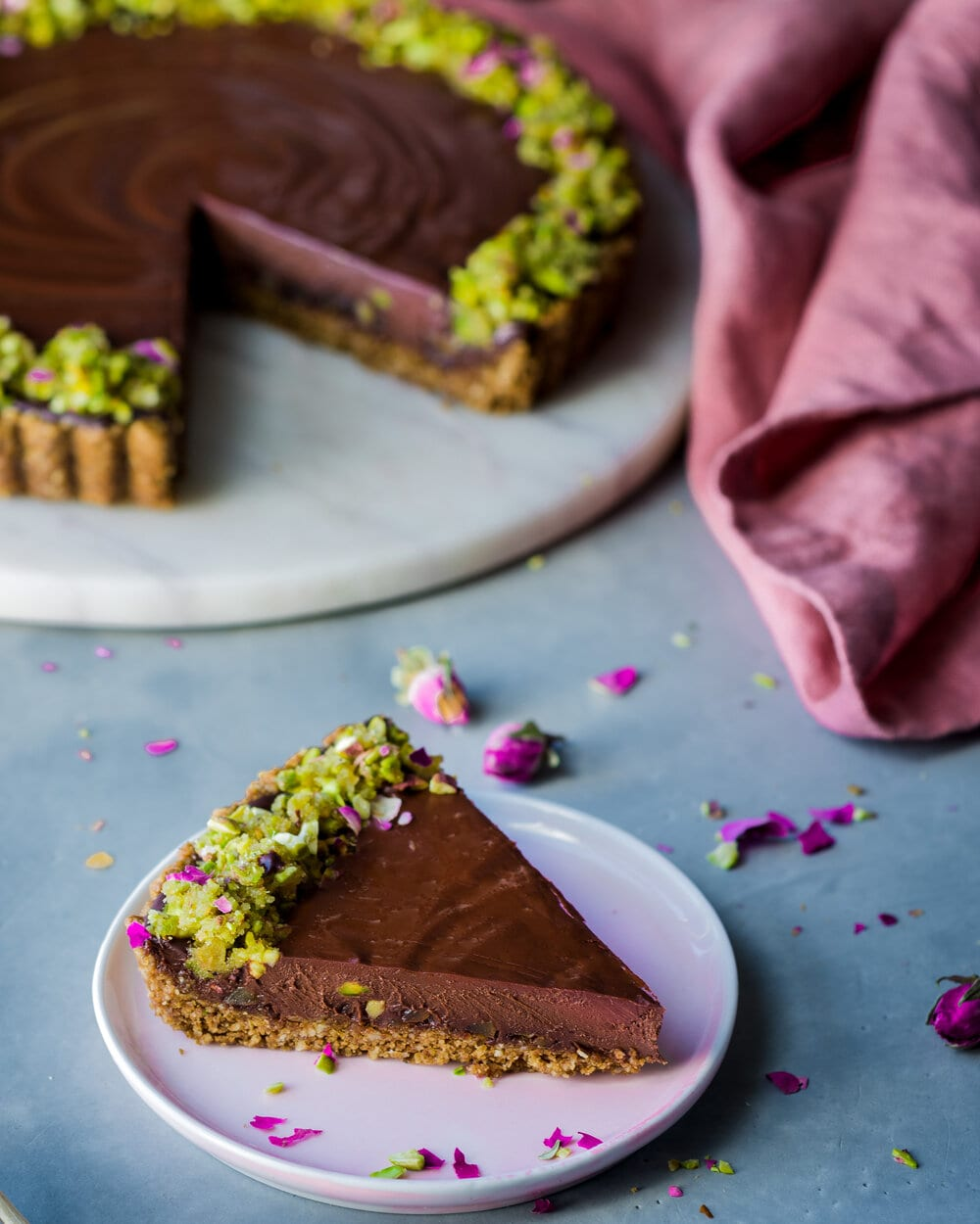 chocolate tart_one slice_broma (1 of 1).jpg