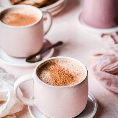 Creamy Vegan Protein Mocha Latte