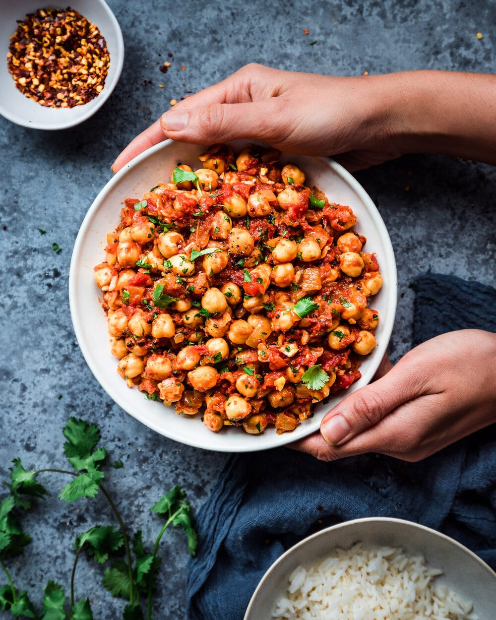 15 Easy Vegan Pantry Recipes: Vegan Chana Masala