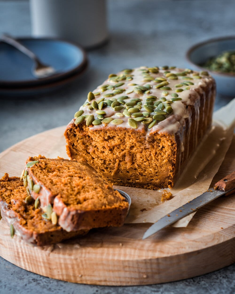 10 Delicious Vegan Pumpkin Desserts. vegan pumpkin bread. healthy vegan pumpkin bread.