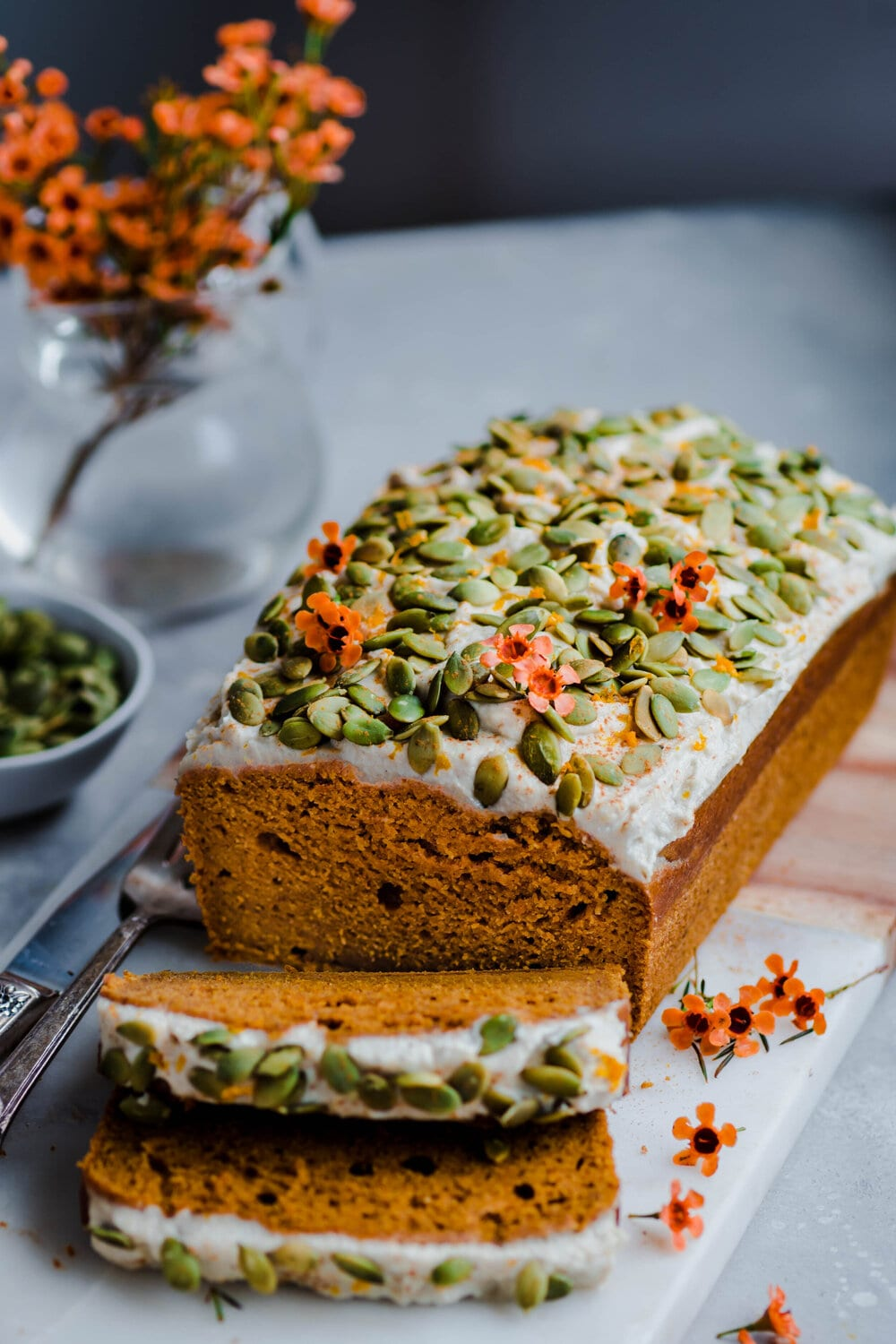 10 Delicious Vegan Pumpkin Desserts. vegan pumpkin bread.