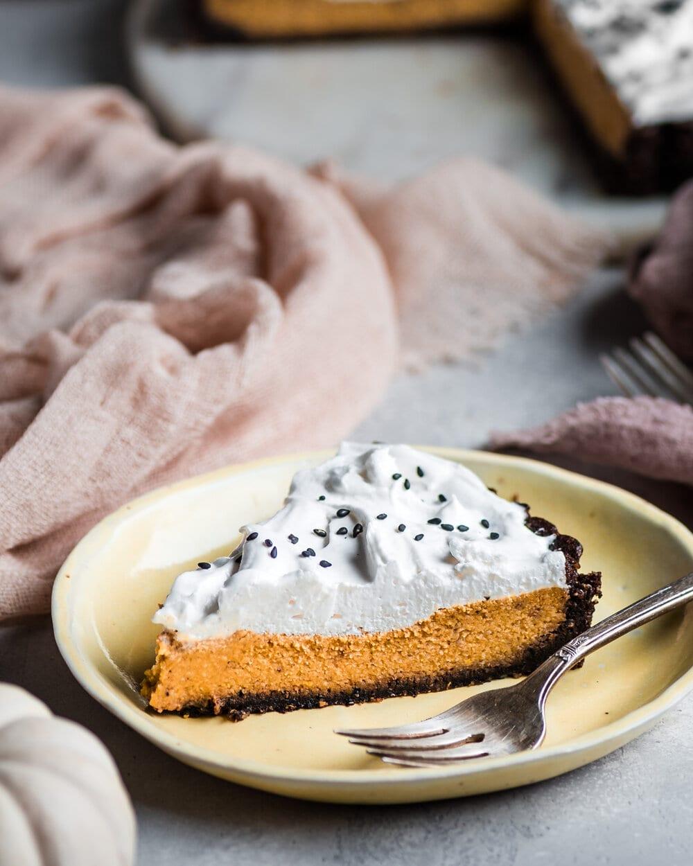 Pumpkin Miso Tart (Vegan, Gluten-Free)