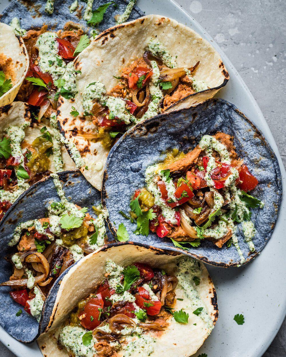 25 Easy Kid-Friendly Vegan Recipes. Vegan Tacos.