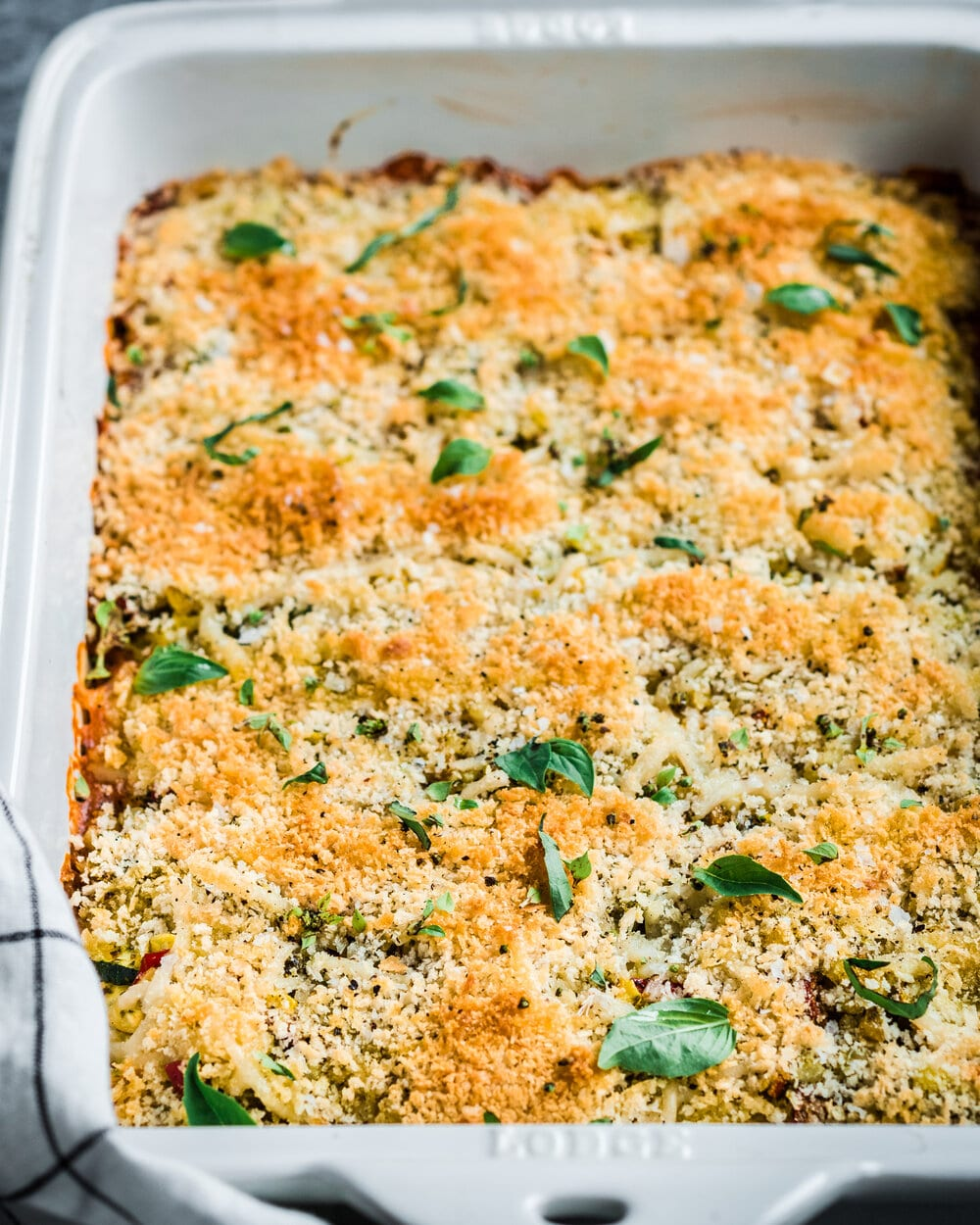 Crispy Zucchini and Corn Casserole