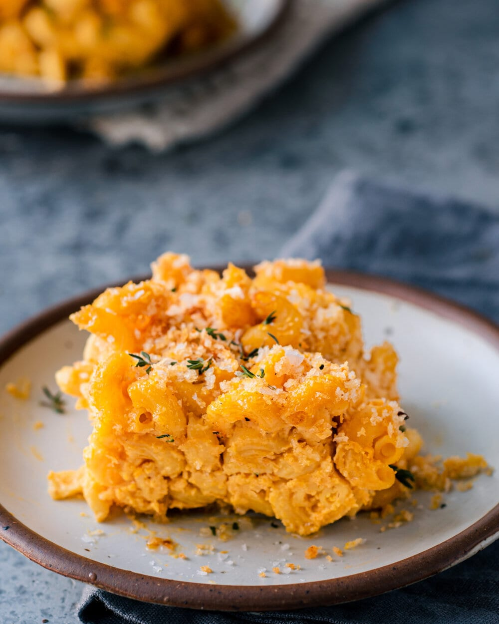 baked mac and cheese - stack on plate 2.jpg