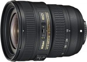 Nikon 18-35 mm lens