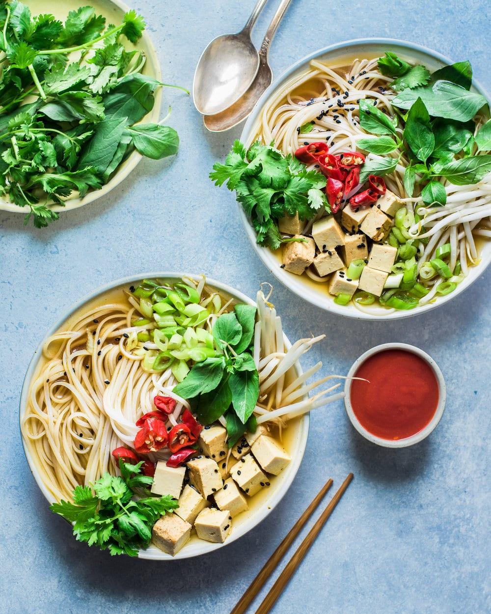 Instant Pot Vegan Pho (Vietnamese Noodle Soup)