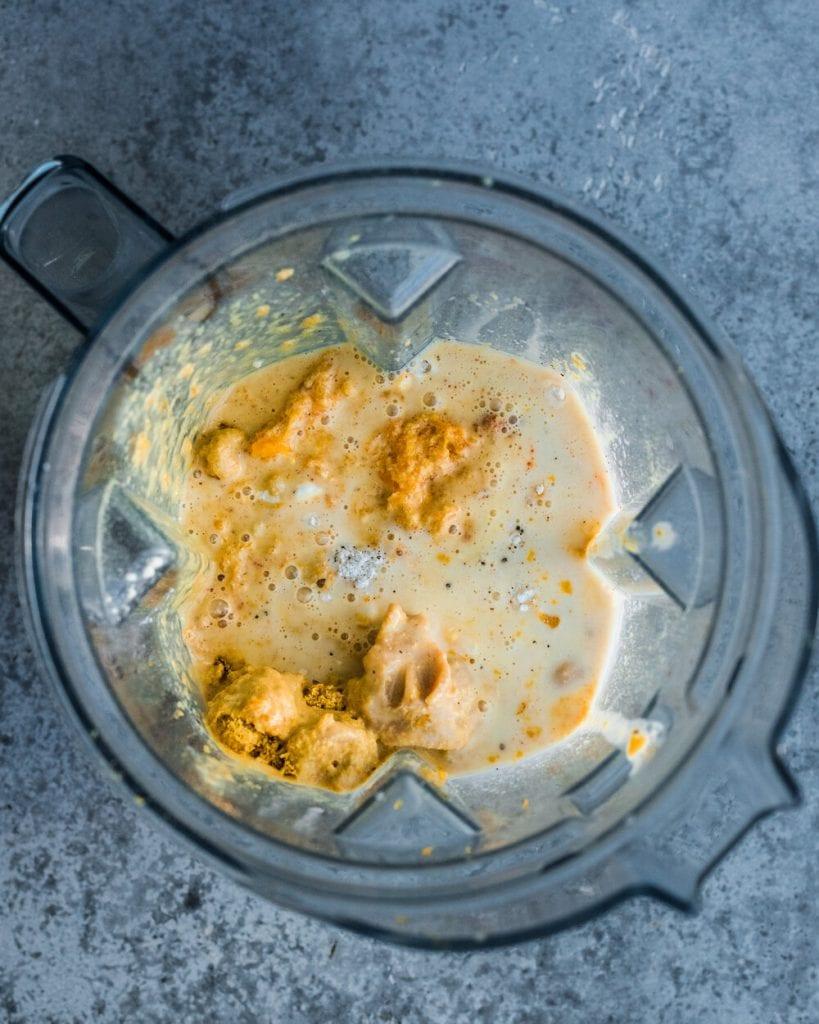 cheese sauce ingredients in blender