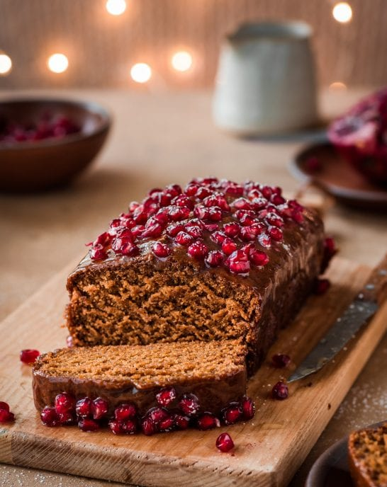 Fluffy Vegan Gingerbread Cake