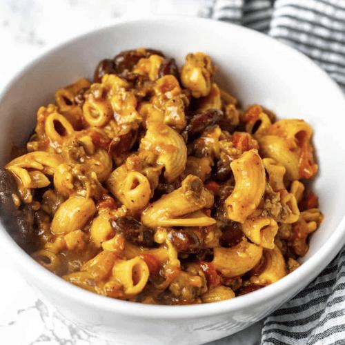 Vegan Chili Mac And Cheese