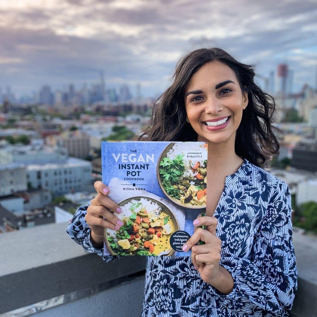 nisha vora author of vegan instant pot cookbook