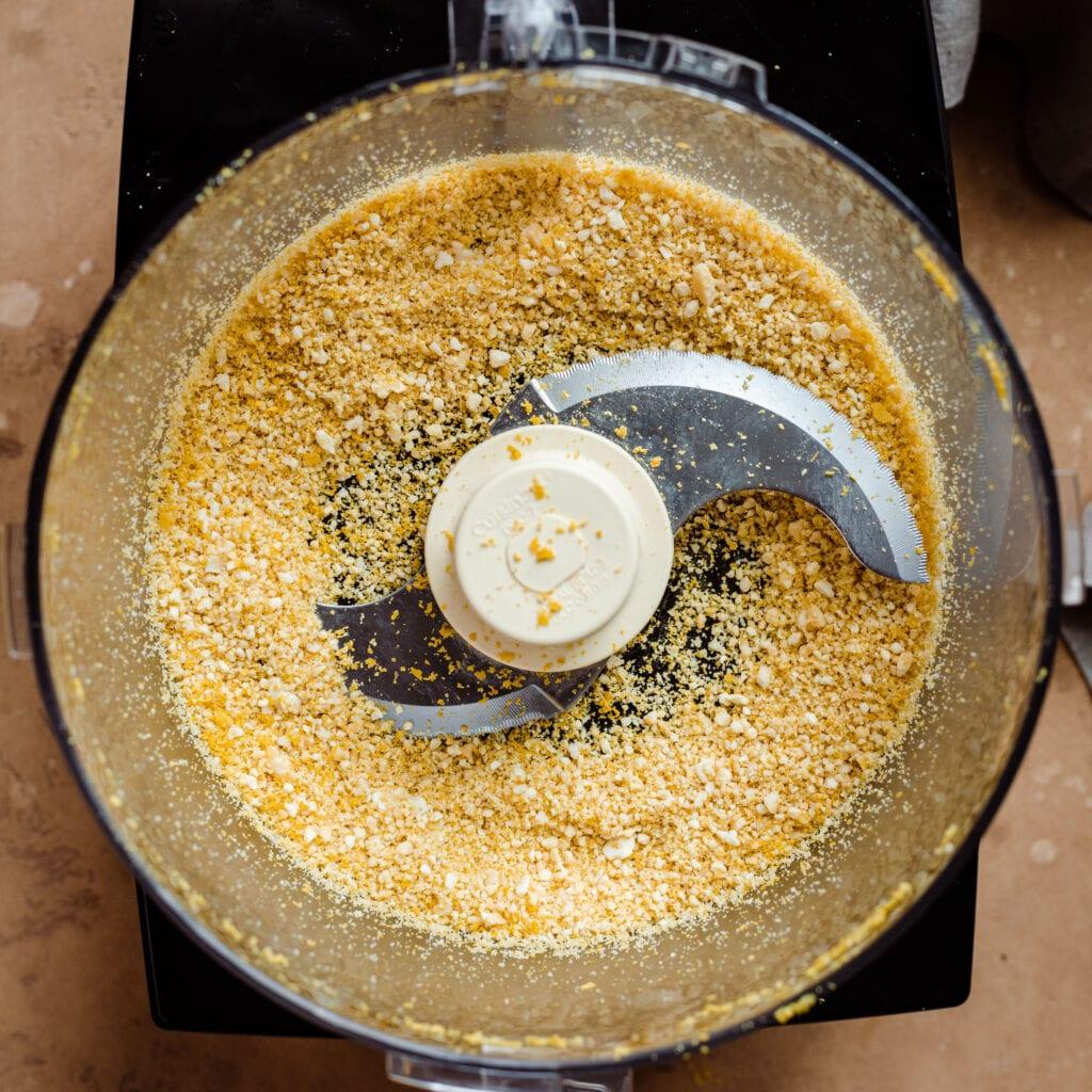 cashew parmesan in food processor