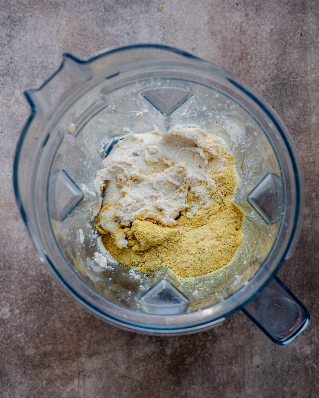 more ingredients in blender